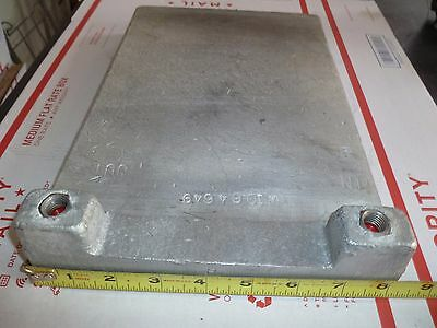 Used  Cold Plate Aluminium #1 Circuit,  With out Fittings For Draf