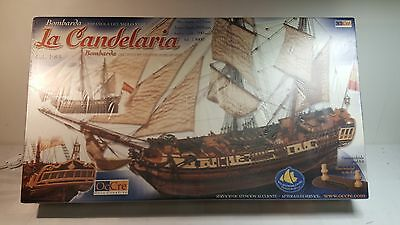 La Candelaria wood galleon kit by Occre #13000