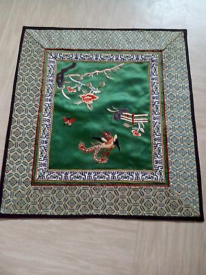 antique Chinese silk embroidery