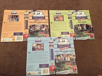 Brookside- Unsigned Video Publicity Sleeves X 3