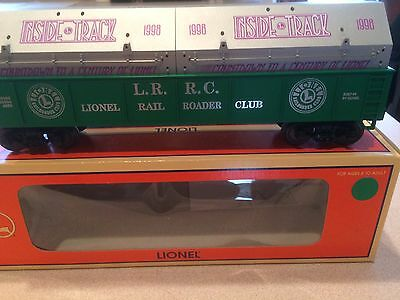 """Lionel LRRC """"Countdown to a Century"""" Gondola w/covers, 6-19966, C-9"""