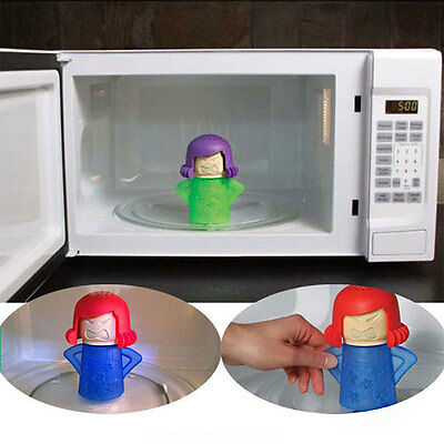 Angry Mama Kitchenware Microwave Cleaner Cartoon Household Accessories Cleaning