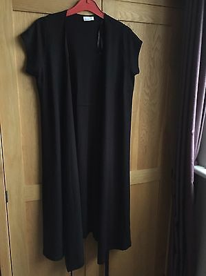 maternity clothes, Blooming Marvellous Black Wrap Dress Size 12