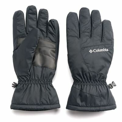 Columbia Men Six Rivers Thermal Coil Gloves Black X-Large