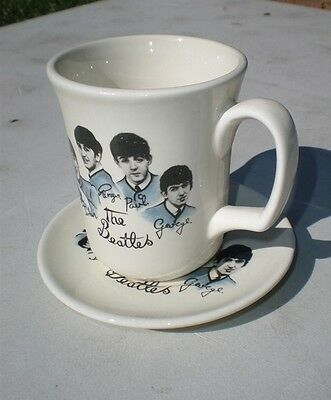 Collectable The Beatles Set Of Porcelain Cup & Saucer....