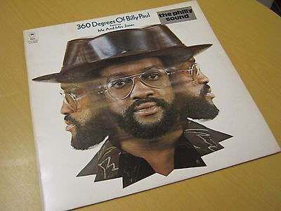360 Degrees of Billy Paul, Vinyl LP (Record EX+, Sleeve EX)