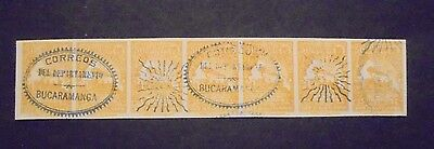 Classic Strip Colombia Vf Used B10.4 Start 0.99$