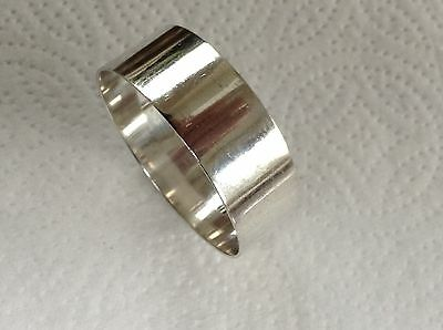Vintage Sterling Silver Napkin Ring by Sheffield Maker Cooper Bros & Sons 1958