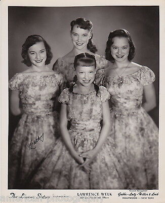 THE LENNON SISTERS - Original Photograph * Lawrence Welk & His Champagne Music