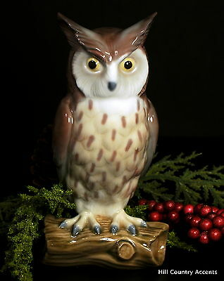 """Lladro """"horned Owl"""" # 5420 - Retired In 1989 - Rare -  2 Year Issue - *mint*"""