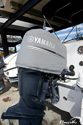 Yamaha 3.3L V6 F200 F225 F250 Deluxe Outboard Motor Cover - MAR-MTRCV-11-25