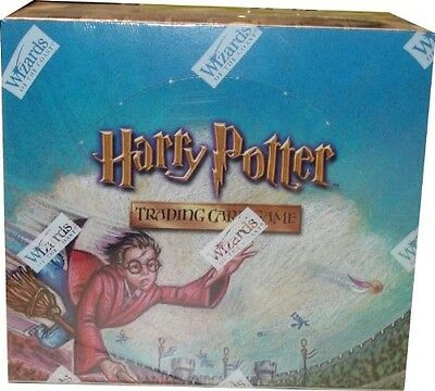 Collectible Card Game: Quidditch Cup Booster Box Packs Harry Potter Tcg Ccg