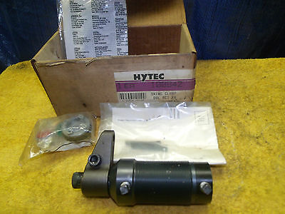 HYTEC 100842 HYDRAULIC THREADED SWING CLAMP DOUBLE ACTING RH NEW w/ rebuild kit
