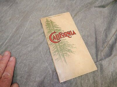 1899 California North-Western Railroad Library No. 1 Brochure 26 + pages