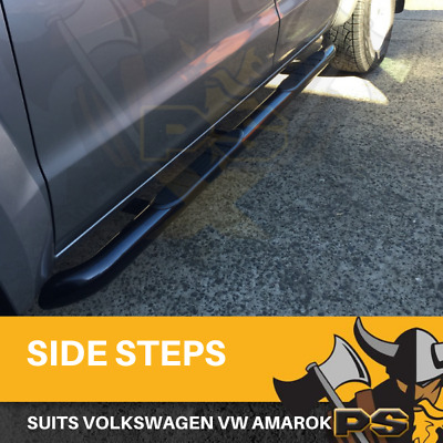 Aluminium Side Steps for Volkswagen Amarok 2010-2016 Dual Cab Running Boards Sid