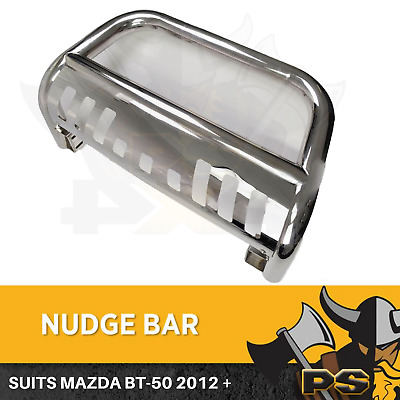 Nudge Bar Bullbar Bumper for Mazda BT-50 12-18 Stainless Steel 304