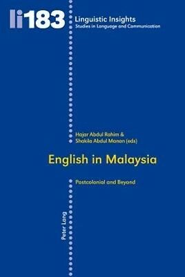 English in Malaysia by Paperback Book (English)