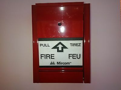 New!! Pull Station Mircom MS-401 Single-Stage Manual Fire Alarm Station ULC New!