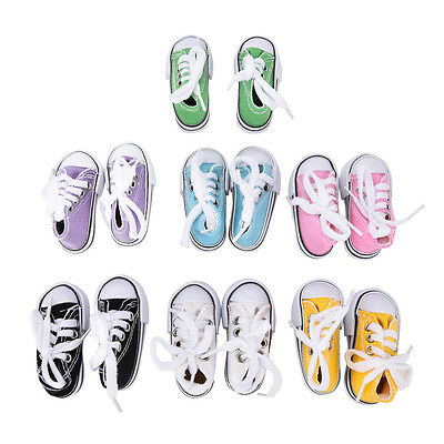 7.5cm Canvas Shoes BJD Doll Toy Mini Doll Shoes for 16 Inch Sharon doll Boots HP