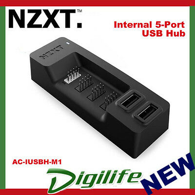 NZXT Internal 5-Port USB 2.0 Expansion Hub AC-IUSBH-M1