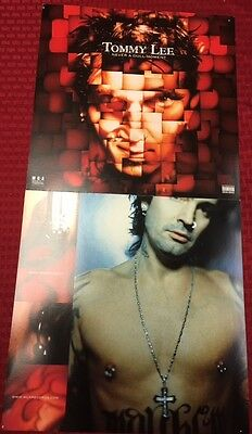 Motley Crue TOMMY LEE Solo NEVER A DULL MOMENT Record Store Promo Display