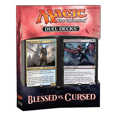 Magic the Gathering Duel Deck Blessed vs Cursed