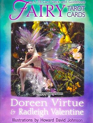 """fairy Tarot Cards Deck"" By Doreen Virtue & Radleigh Valentine (Oracle)"