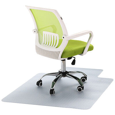 New Hard Floor Chair Mat Thick PVC Protect Office Work 120 x 90cm Carpet AU