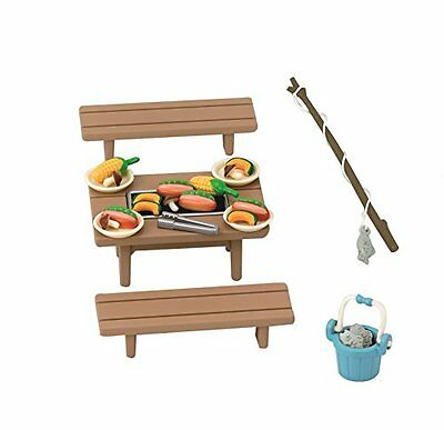 Epoch Calico Critters Families furniture family barbecue set Ka-615