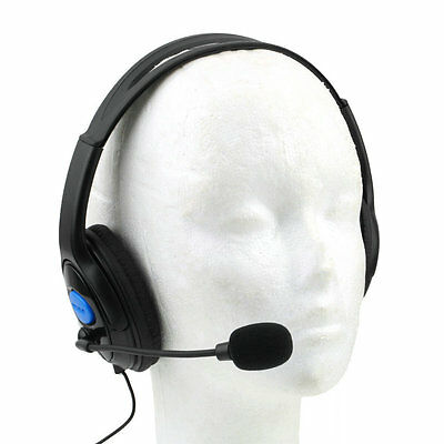 Wired Gaming Headset Headphones with Microphone for Sony PS4 PlayStation 4 PYAU