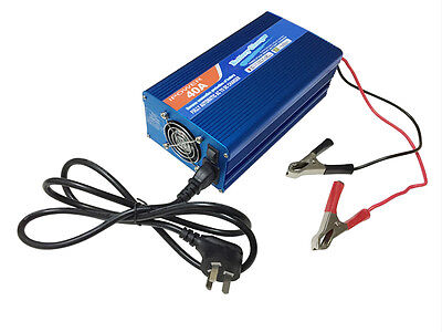 12v 40A Leisure battery charger car caravan boat camping gift