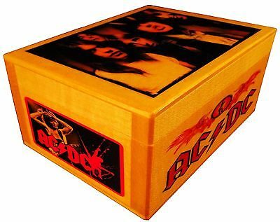 AC/DC Highway to Hell figure portrait, BOX with AUTOGRAPHED, bust, Poster, Quote