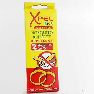 Xpel Kids Mosquito and Insect Repellent 2 Bands - Effective 120 hours