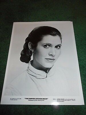 Carrie Fisher - The Empire Strikes Back - Original Publicity Photo - 1980