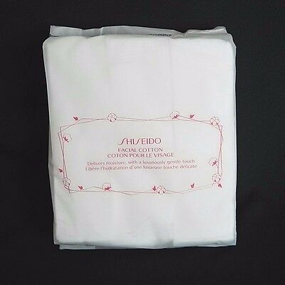 Shiseido Facial Cotton 100% Pure Pads Smooth Gentle Height Quality 165 Sheets