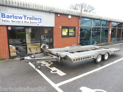 Used Ifor Williams CT177 Twin Axle Car Transporter Trailer - Ref: U6606