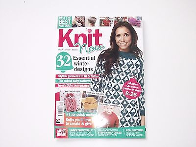 Knit Now - Knitting Pattern Magazine No.40 - Christmas Issue