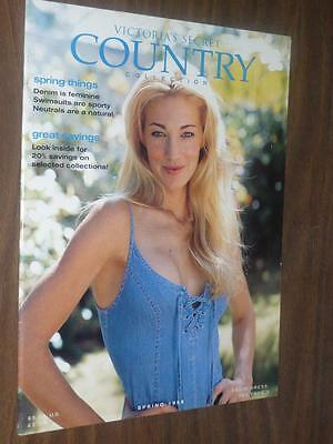 Victoria's Secret Catalog / Country Collection Spring 1998 / Elaine Irwin Cover