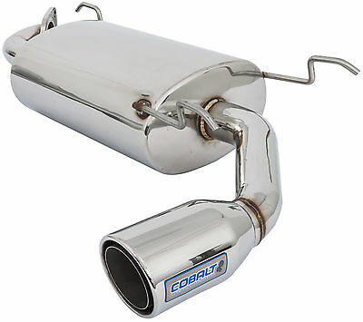 Mx5 Mk2 & 2.5 Cobalt Stainless Steel Rear Exhaust Silencer - 900-565
