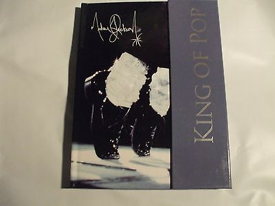 Michael Jackson magnetic snap front lined journal grey flap