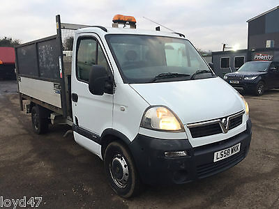 2008 58 Vauxhall Movano lwb tipper taillift high sides warranted 109k 1 owner