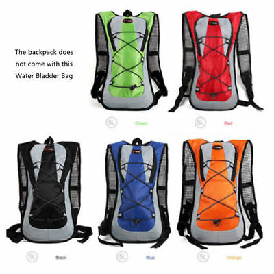 Hydration Pack Rucksack Backpack Water Bladder Bag Outdoor Cycling Hiking 7129