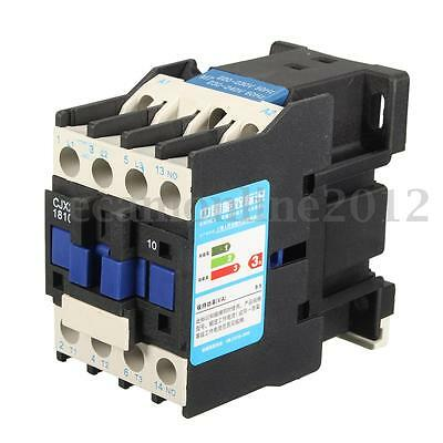 AC 220V Coil 32A 3-Phase 1NO 50/60Hz Motor  Starter Relay LC1 D1810 AC Contactor