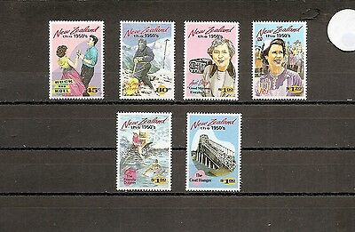 New Zealand 1994 SG1787-92 6v NHM NZ in the Fifties