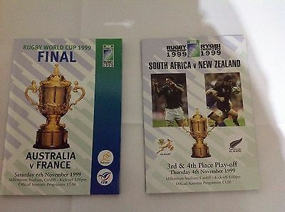 rugby world cup 1999 official programme