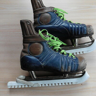 Retro Vintage Fagen Ice Hockey Skates size UK 6