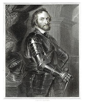 Thomas Howard, Earl of Arundel & Surrey - Courtier & Politician - After Rubens