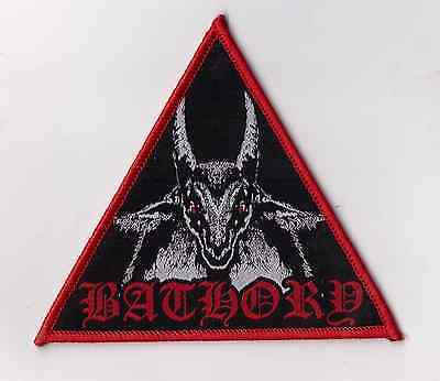 Bathory Patch hellhammer-venom-celtic frost-discharge-amebix-axegrinder-sodom