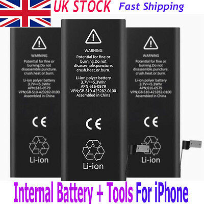 1810mAh Replacement Li-ion Internal Battery + Disassemble Tools For iPhone 6 ID5