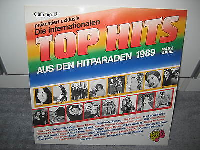 "LP V.A. ""16 Top Hits  Aus den Hitparaden März/April ´89 "" (Club Top 13)"